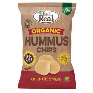 Organic Hummus Chips Sea Salt 100g
