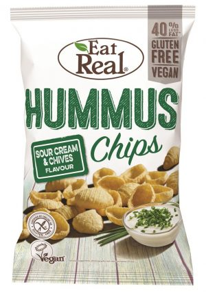 Hummus Chips Sour Cream & Chives