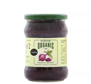 Organic Raw Fermented Sliced Beetroot 500g