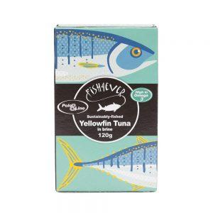 Yellowfin Tuna in Brine 120g