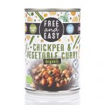 Chick Pea & Vegetable Curry 400g