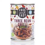 Organic Three Bean Chilli 400g