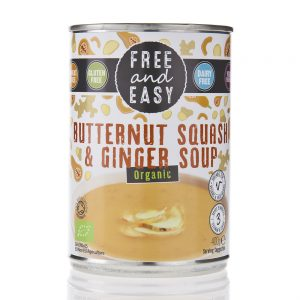 Butternut Squash &Ginger soup 400g