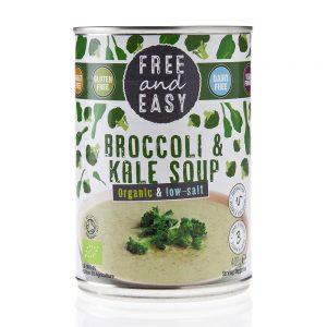 Low Salt Broccoli & Kale Soup 400g