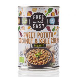 Sweet Pot, Coconut & Kale Curry