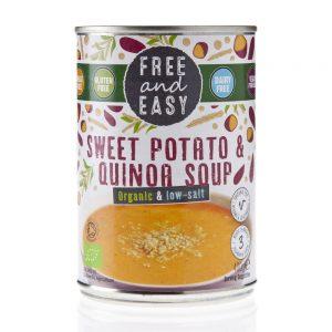 Sweet Potato & Quinoa Soup 400g