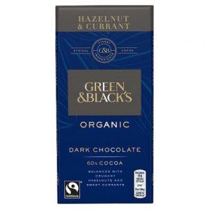 Organic Choc Hazelnut Currant 90g