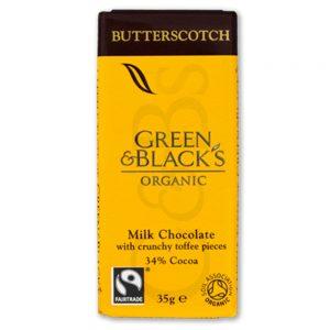 Butterscotch Chocolate Bar 35g