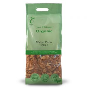 Organic Walnut Pieces 250g