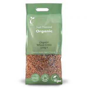 Organic Wheat Grain 500g