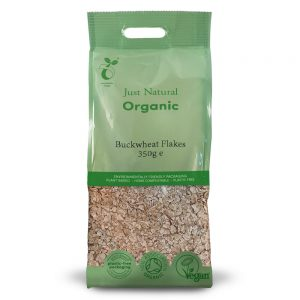 Organic Buckwheat Flakes 350g