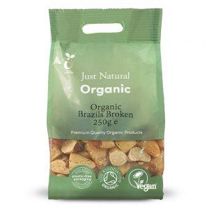 Organic Brazils Broken 250g