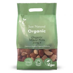 Organic Mixed Nuts 250g
