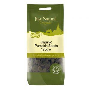 Organic Pumpkin Seeds 125g
