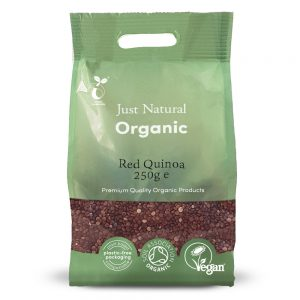 Organic Red Quinoa 250g
