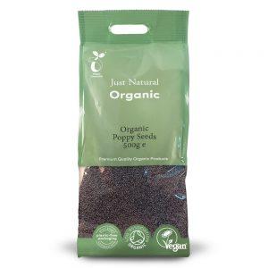 Organic Poppy Seeds 500g