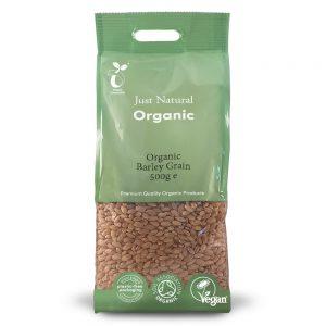 Organic Barley Grain 500g