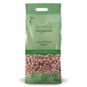 Organic Haricot Beans 500g