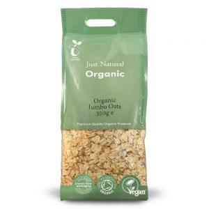 Organic Jumbo Oats 350g