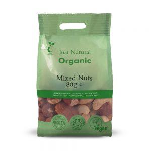 Organic Mixed Nuts 80g
