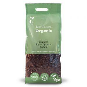 Organic Black Quinoa 500g