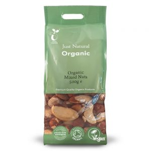 Organic Mixed Nuts 500g