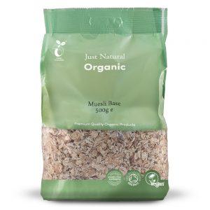 Organic Muesli Base 500g
