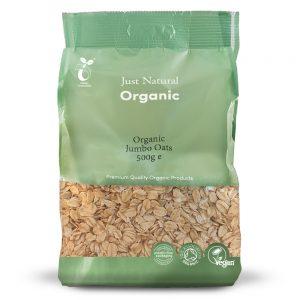 Organic Jumbo Oats 500g