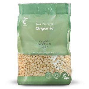 Organic Puffed Rice 125g
