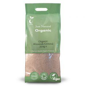 Organic Almonds Ground 350g
