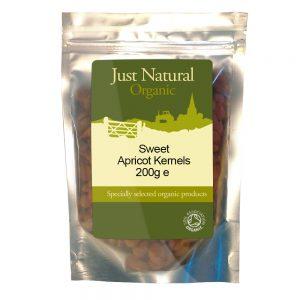 Organic Apricot Kernels - Sweet 200g