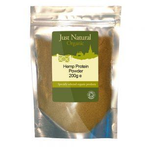 Organic Hemp Protein Powder 200g