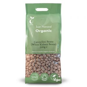 Organic Cannellini Beans 500g