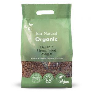 Organic Hempseed Whole 250g