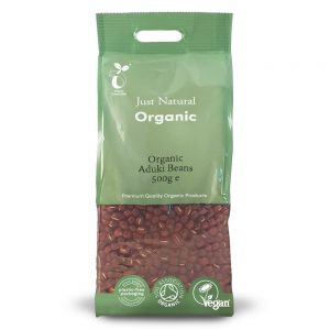 Organic Aduki Beans 500g