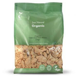 Organic GMO Free Soya Mince 350g