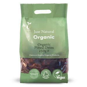 Organic Pitted Dates 250g