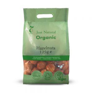Organic Hazelnuts 125g