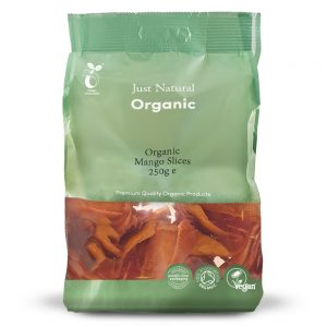 Organic Mango Slices 250g