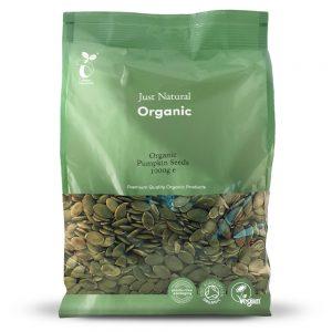 Organic Pumpkin Seeds 1000g