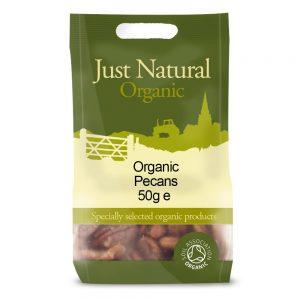 Organic Pecans Halves 50g