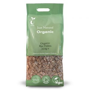 Organic Rye Flakes 350g