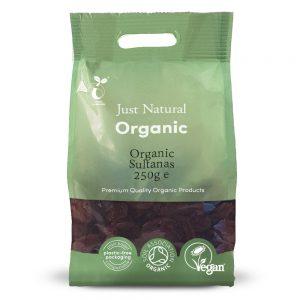 Organic Sultanas 250g