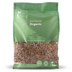 Organic Sunflower Seeds 1000g