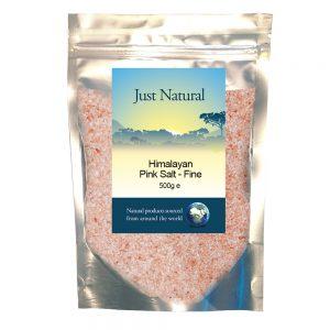 Himalayan Rose Pink Crystal Salt - Fine 500g