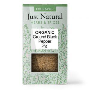 Ground Black Pepper 25g
