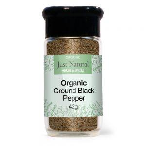 Pepper Ground Black 42g