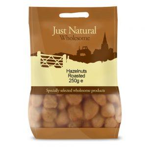 Hazelnuts Roasted 250g