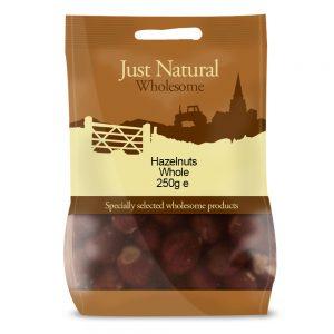 Hazelnuts Whole 250g