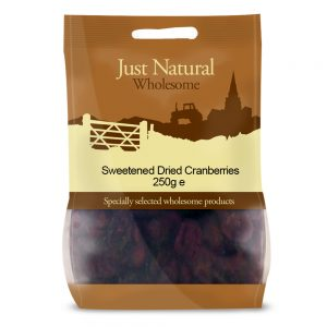 Sweetened Dried Cranberries 250g